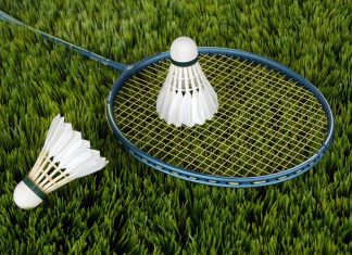 badminton as one of the best garden games