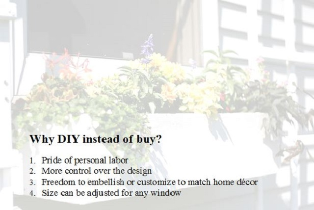 why diy instead of buy