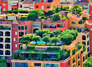 gardens on apartments - perfect examples of apartment gardening