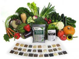 Survival Garden 15,000 Heirloom Vegetable Non GMO Seeds